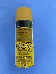 John Deere Construction Yellow Paint Spray Can TY25627