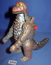 "Bullmark Godzilla Diecast Metal 5"" Vintage  Brown Version 1975 Japan Fig. #1"
