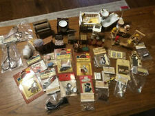 Dollhouse Miniatures Lot - Furniture And Accessories