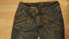 Almost Famous Mid rise Medium wash jeans Boot cut Junior Sz 9