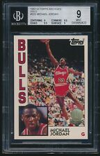 1992-93 Topps Archives Gold #52G Michael Jordan BGS 9 Mint (9 / 9.5 / 9.5 / 9)