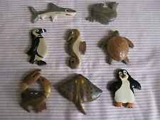 Unbranded Animals & Insects Wooden Decorative Fridge Magnets