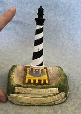 "Cape Hatteras Lighthouse Nc Move of Century July 1999 6"" Figurine Lim Ed Coa"
