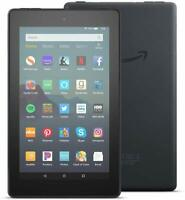 """NEW Amazon Fire 7 Tablet With Alexa 7"""" Display 16 GB (9th Generation) - BLACK"""