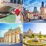 3T Kurzurlaub 21 Städte - 36 Hotels - 6 Länder mit Frühstück, Hotelgutschein a&o