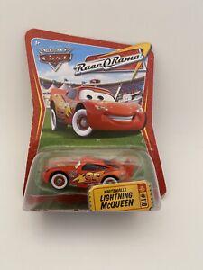 Disney Pixar World Of Cars Race O Rama Whitewalls Lightning McQueen