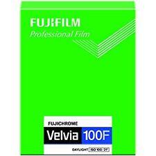 FUJIFILM reversal film Fujichrome Velvia 100F sheet 20 CUT VELVIA 100 F 8 X 10 2