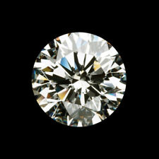 1.09Ct 7mm Round Cut Off White Yellow 100% Real Genuine Loose Moissanite Diamond