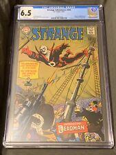 DC Strange Adventures 205 CGC 6.5 1st App Appearance Deadman White Pages!!