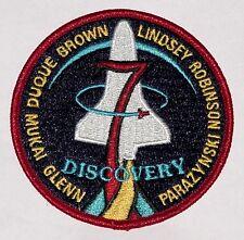 Aufnäher Patch Raumfahrt NASA STS 95 Space Shuttle Discovery ...........A3165