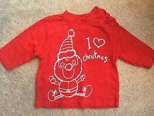 Baby's Newborn 'I Love Christmas' Long Sleeve Top