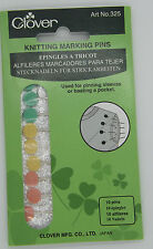 Clover Marking Pins for knitting Heavy duty  pinning & basting 325