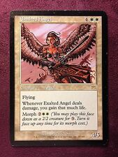 Exalted Angel  VO  MTG PLAYED (see scan)