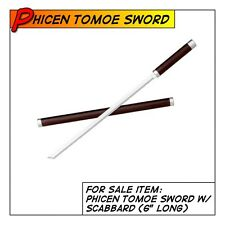 PHICEN/TBLeague Hot Tomoe Samurai Sword w/ Scabbard Weapon fit 1/6 scale Toys