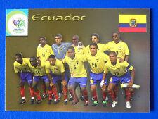 CARD PANINI FIFA WORLD CUP GERMANY 2006 - N.13 - TEAM ECUADOR