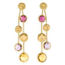 OB860-MIX187 Marco Bicego / Jaipur / orecchini pendenti 2 fili / oro giallo e...