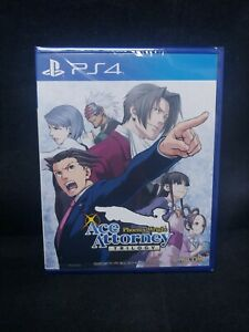 Phoenix Wright Ace Attorney Trilogy (Playstation 4/PS4) BRAND NEW / Import