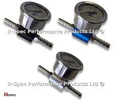 Pro Adaptador de Presión de Combustible & Gauge Para Ford Sierra Escort Cosworth Focus RS ST