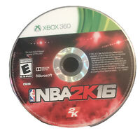 NBA 2K16 Xbox 360 Basketball Kids Game Disc 16B 2016 Rare