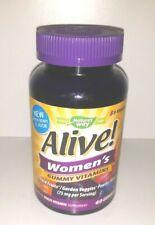 NEW Nature's Way Alive! Women's Gummy Vitamins Multi-Vitamin 60 SEALED