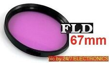 FLD 67mm F-LD 67 mm Fluorescent FILTER fit FUJI FINEPIX S100FS ZOOM S200EXR