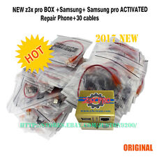 NEW z3x pro  BOX  +Samsung+ Samsung pro ACTIVATED Repair Phone+30 cables