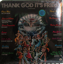 Thank God It's Friday (Soundtrack) Donna Summer,Diana Ross,Commodores (3 records