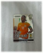 2014 Panini Prizm World Cup Base Captains Didier Drogba - Ivory Coast #7