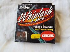 Berkley WHIPLASH PRO, affondamento, verde, 8lb125yds (state in magazzino)