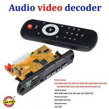 New listing Audio Video Decoder Bluetooth Receiver Board Dts Lossless Mp4 Mp5 Hd Ape Wav Mp3