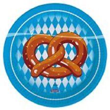 Oktoberfest Wies'n Spass warm up Deko Party Teller bayrische Raute klein