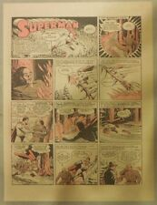 Superman Sunday Page #158 by Siegel & Shuster from 11/8/1942 Half Page:Year #4!