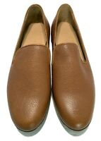 NEW, DUKE + DEXTER MEN'S PEBBLE LEATHER TAN LOAFERS, $315