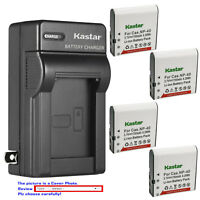Kastar Battery Wall Charger for Casio NP-40 & Casio Exilim Zoom EX-Z200 Camera