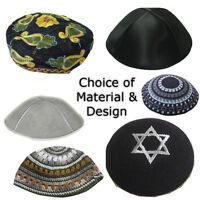 Kippah Yarmulke Jewish Kippa Hat Kipa Cap Cupples Knitted Suede Velvet Or Satin