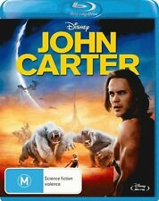 Disney JOHN CARTER New Blu-Ray TAYLOR KITSCH SAMANTHA MORTON ***
