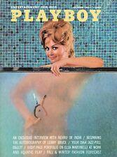 PLAYBOY OCTOBER 1963 Christine Williams Teddi Smith Elsa Martinelli Vargas (1)