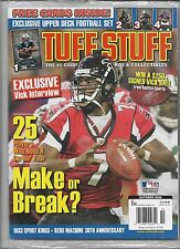 Sealed October 2006 Michael Vick TUFF STUFF PRICE GUIDE Insert Cards Williams