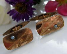 Antiguedad gemelos de oro Double/500 ° ROSÉGOLD verdadero Opal art deco 1930 m87
