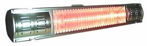 Infrarotstrahler infralogic HeizMeister 2000 Watt Professionell IP65 Alu poliert