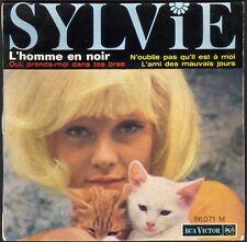 SYLVIE VARTAN L'HOMME EN NOIR 45T EP RCA VICTOR 86.071 VINYLE QUASI NEUF