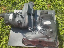 USD Aeon 80 Skates Size  6.0-7.0 (39-40) Black With Lomax 2nd Skin Liner