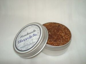 ORGANIC HANDMADE SUGAR LIP AND FACE SCRUB WITH CHOCOLATE Oil AND ORGANIC COCOA