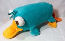 """Disney Parks~Phineas & Ferb~Perry the Platypus~Plush~Talks-Makes Sounds~18"""""""