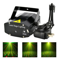 Mini LED R&G Laser Projector Stage Strobe Lighting DJ Disco KTV Party Club Light