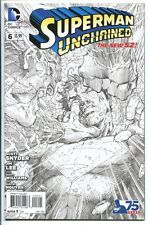 SUPERMAN UNCHAINED #6 1:300 SKETCH VARIANT JIM LEE DC COMICS 2015 NM