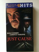 Just Cause (VHS) Sean Connery Laurence Fishburne Kate Capshaw Blair Underwood