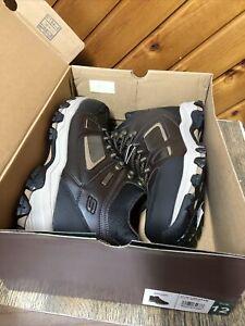 Skechers Men's Relaxed Fit Selmen-Regram Waterproof Boots Size 12 New