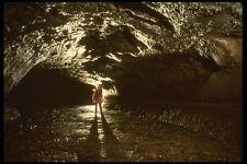194092 Lava Tube Cave Washington A4 Photo Print