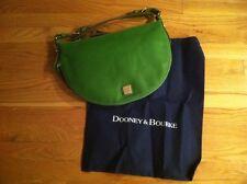 DOONEY AND BOURKE GREEN LUNA CALF LEATHER HOBO BAG ORG. $245.00 BNWT